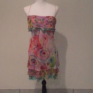 Diane Von Furstenberg cami dress size 8